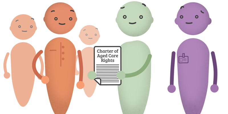 OPAN Charter of aged care rights image